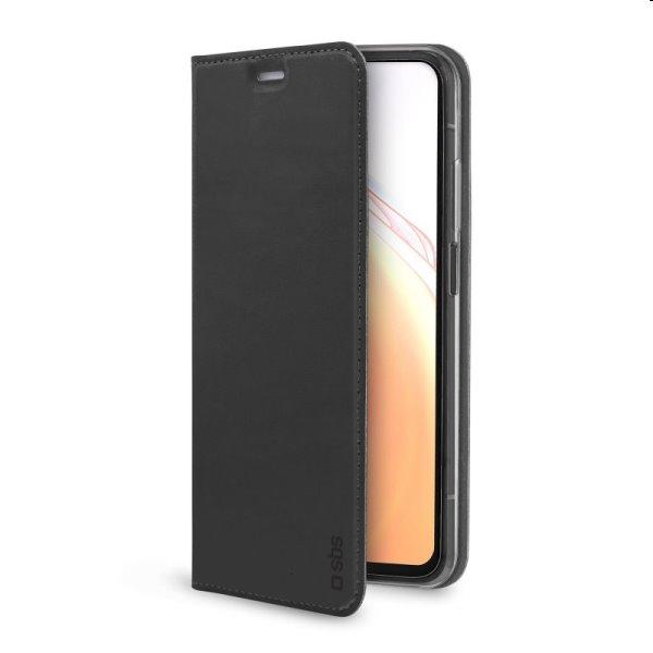 Puzdro SBS Book Wallet Lite pre Xiaomi Redmi Note 10 Pro, čierne