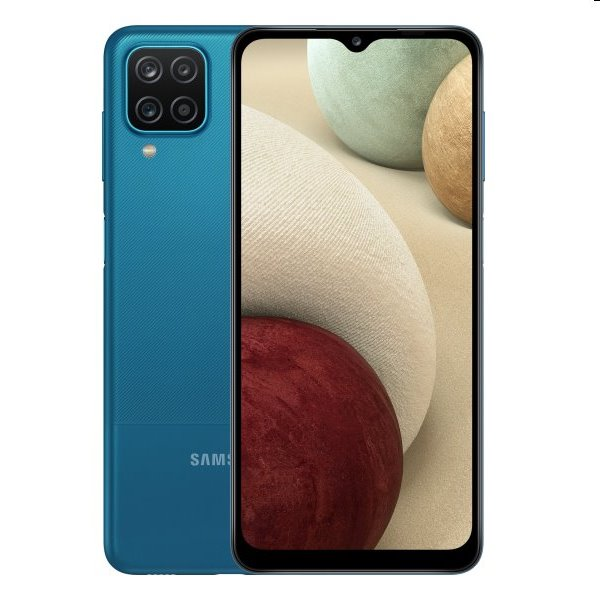 Samsung Galaxy A12 - A127F, 4/64GB, blue SM-A127FZBVEUE