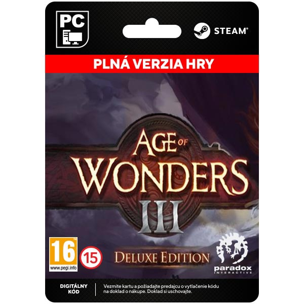 Age of Wonders 3 - Deluxe Edition [Steam]