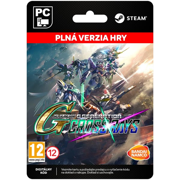 SD Gundam G Generation Cross Rays [Steam]