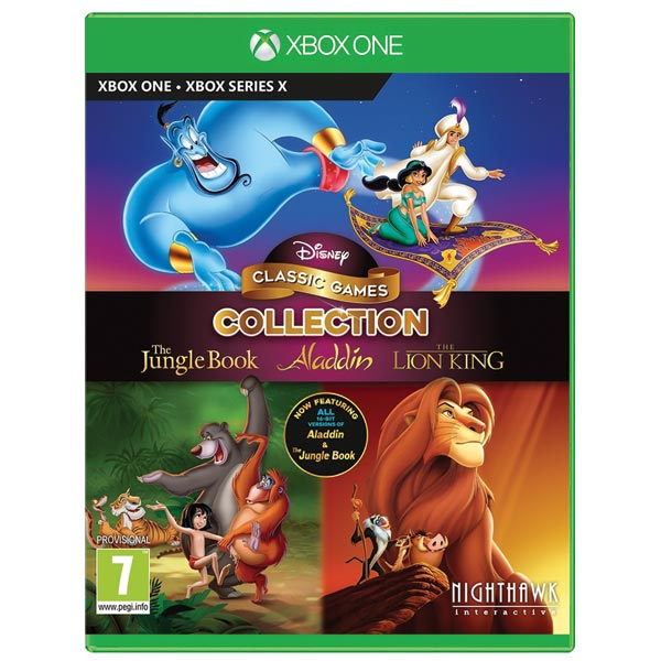 Disney Classic Games Collection: The Jungle Book, Aladdin & The Lion King XBOX ONE