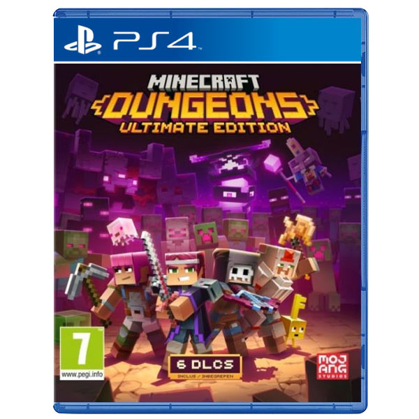 Minecraft Dungeons (Ultimate Edition) PS4