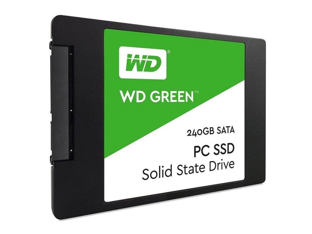 """WD 480GB Green™ SSD 2,5"""" SATA III, 540MB/465MB, 7mm WDS480G2G0A"""