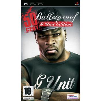 50 Cent: Bulletproof (G Unit Edition)-PSP - BAZÁR (použitý tovar)