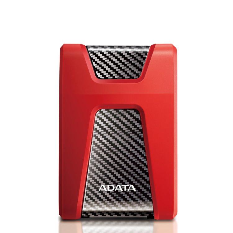 A-Data HDD HD650, 1TB, USB 3.2 (AHD650-1TU31-CRD), Red AHD650-1TU31-CRD