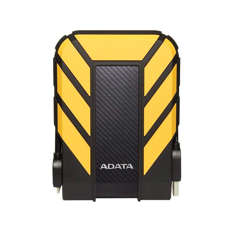 A-Data HDD HD710P Pro, 1TB, USB 3.2 (AHD710P-1TU31-CYL), Yellow AHD710P-1TU31-CYL