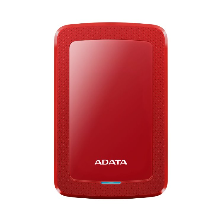 A-Data HDD HV300, 1TB, USB 3.2 (AHV300-1TU31-CRD), Red AHV300-1TU31-CRD