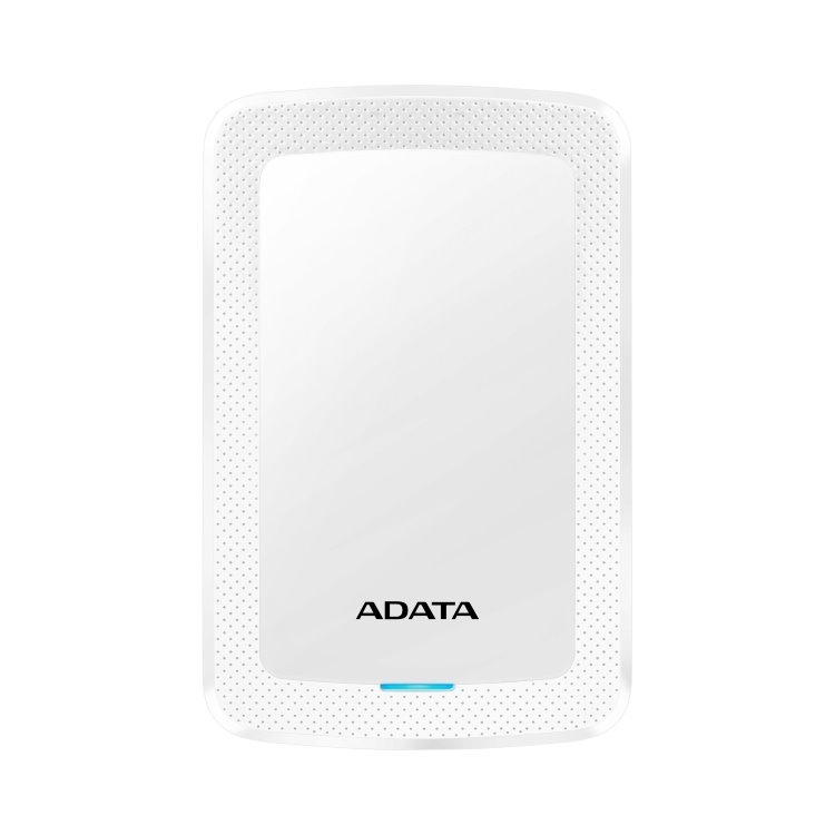 A-Data HDD HV300, 1TB, USB 3.2 (AHV300-1TU31-CWH), White AHV300-1TU31-CWH