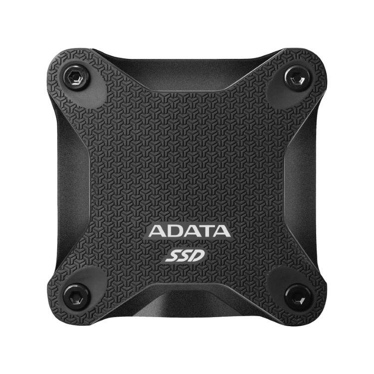 A-Data SSD SD600Q, 240GB, USB 3.2 - rýchlosť 440/430 MB/s (ASD600Q-240GU31-CBK), Black
