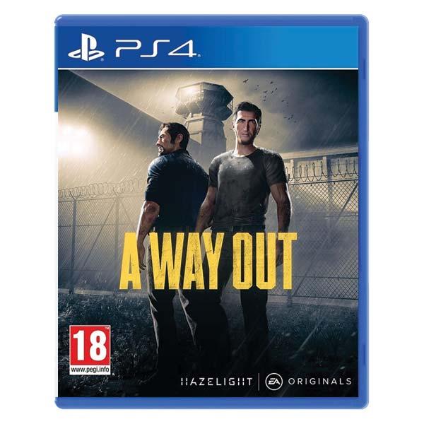 A Way Out [PS4] - BAZÁR (použitý tovar)