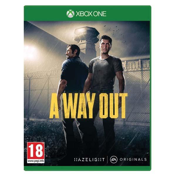 A Way Out [XBOX ONE] - BAZÁR (použitý tovar)