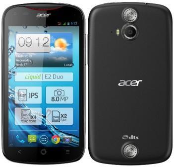 Acer Liquid E2, 4GB | Black, Trieda B - použité, záruka 12 mesiacov