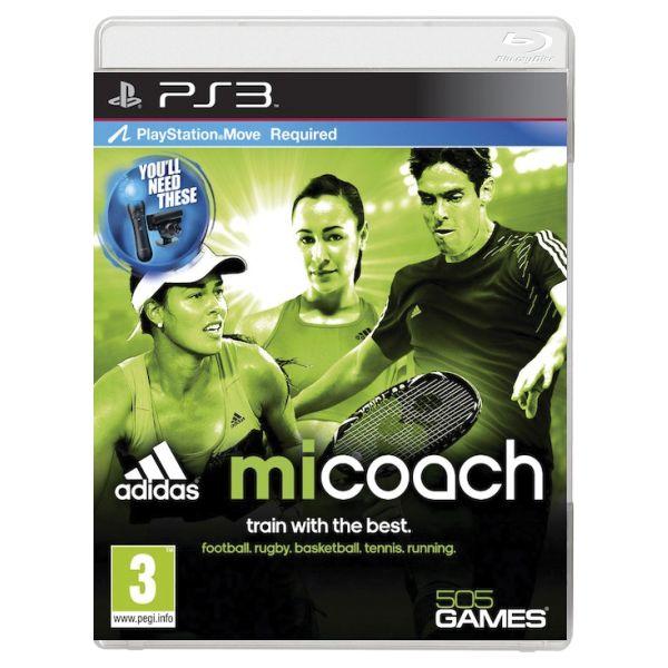 Adidas miCoach [PS3] - BAZÁR (použitý tovar)