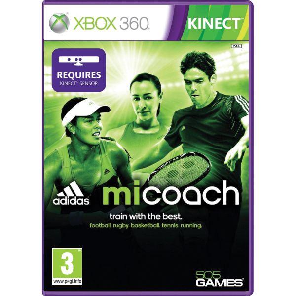 Adidas miCoach [XBOX 360] - BAZÁR (použitý tovar)