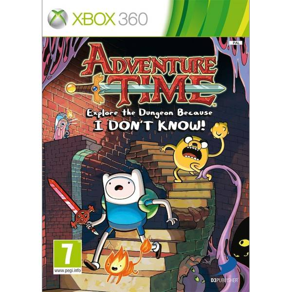 Adventure Time: Explore the Dungeon Because I Don´t Know XBOX 360