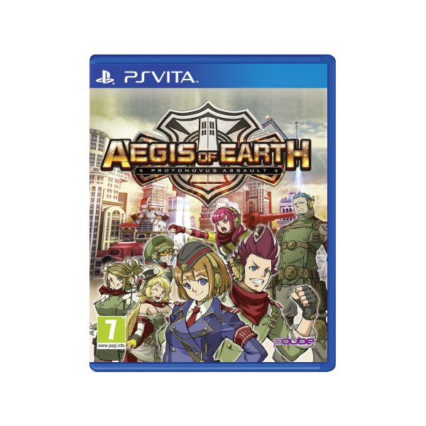 Aegis of Earth: Protonovous Assault