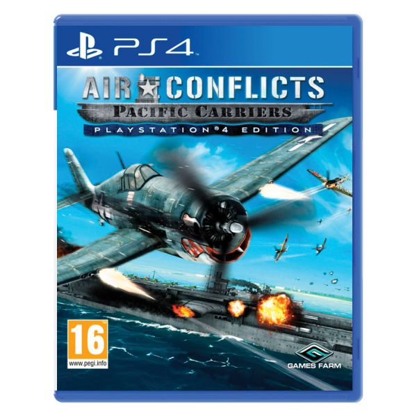 Air Conflicts: Pacific Carriers (PlayStation 4 Edition) [PS4] - BAZÁR (použitý tovar)