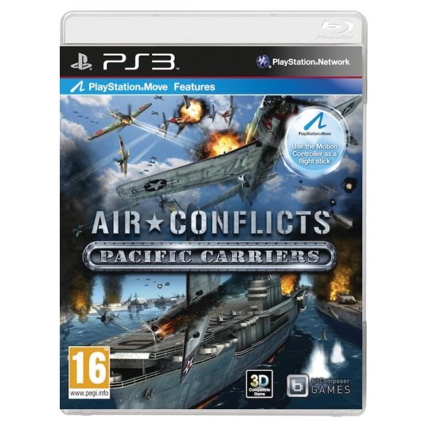 Air Conflicts: Pacific Carriers [PS3] - BAZÁR (použitý tovar)