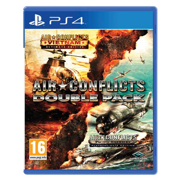Air Conflicts: Vietnam (Ultimate Edition) + Air Conflicts: Pacific Carriers (PlayStation 4 Edition) PS4