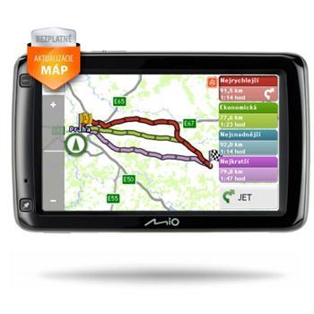 Akcia - MIO Spirit 680 EEU + mapy 44 európskych štátov + doživotná aktualizácia zadarmo