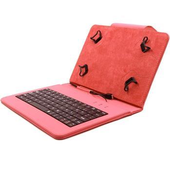 Akcia - Puzdro FlexGrip s klávesnicou pre Prestigio MultiPad Color 2 7.0 - PMT3777, Red
