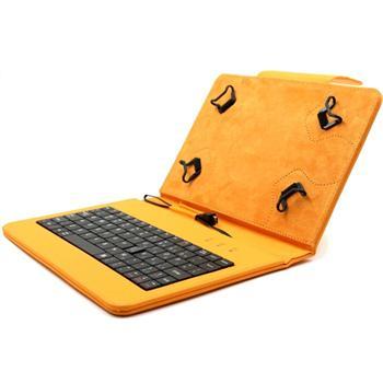 Akcia - Puzdro FlexGrip s klávesnicou pre Samsung Galaxy Tab S2 8.0 - T710/T715, Orange