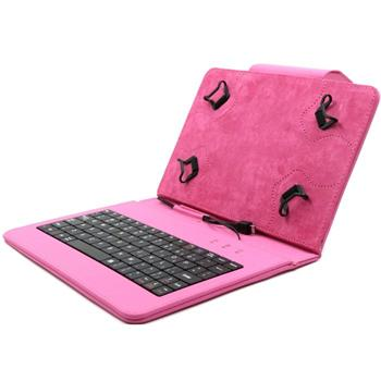 Akcia - Puzdro FlexGrip s klávesnicou pre Samsung Galaxy Tab S2 8.0 - T710/T715, Pink