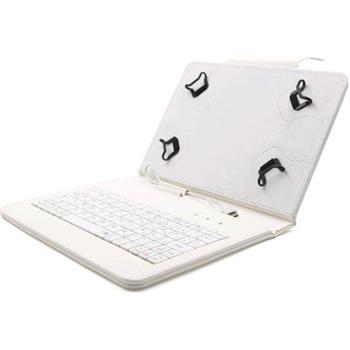 Akcia - Puzdro FlexGrip s klávesnicou pre Samsung Galaxy Tab S2 8.0 - T710/T715, White
