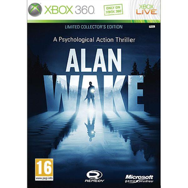 Alan Wake (Limited Collector's Edition) [XBOX 360] - BAZÁR (použitý tovar)
