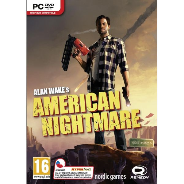Alan Wake's American Nightmare CZ