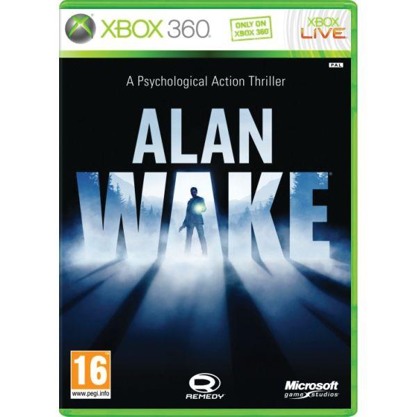 Alan Wake [XBOX 360] - BAZÁR (použitý tovar)