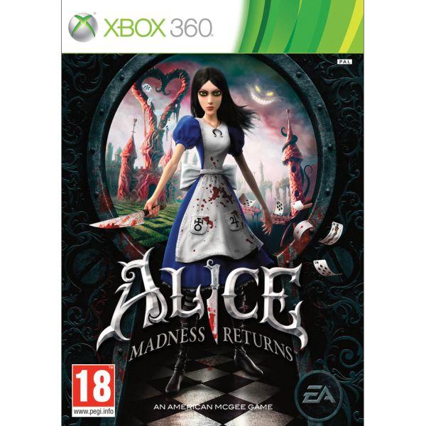 Alice: Madness Returns [XBOX 360] - BAZÁR (použitý tovar)