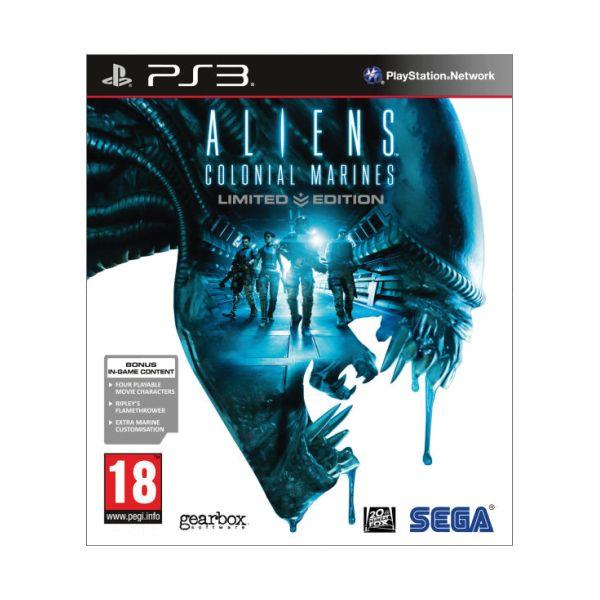 Aliens: Colonial Marines (Limited Edition)-PS3 - BAZÁR (použitý tovar)