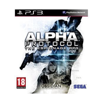 Alpha Protocol [PS3] - BAZÁR (použitý tovar)
