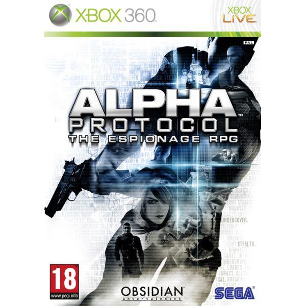 Alpha Protocol- XBOX 360- BAZÁR (použitý tovar)