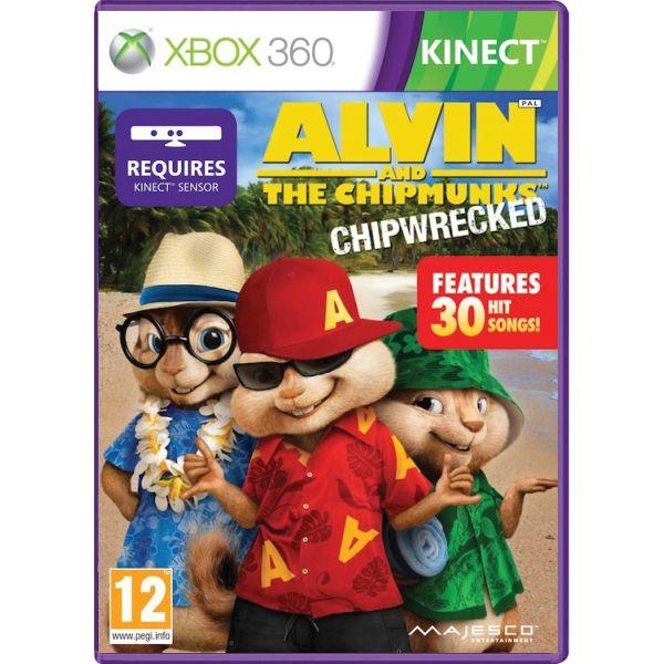 Alvin and the Chipmunks: Chipwrecked [XBOX 360] - BAZÁR (použitý tovar)