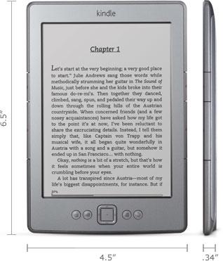 Amazon Kindle 4th Generation | Gray, Trieda A - použité, záruka 12 mesiacov
