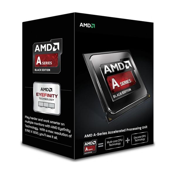 AMDBlack Edition A8-7670K (3,6Ghz / 1Mb / 95W / SocFM2+) Quiet Cooler Box