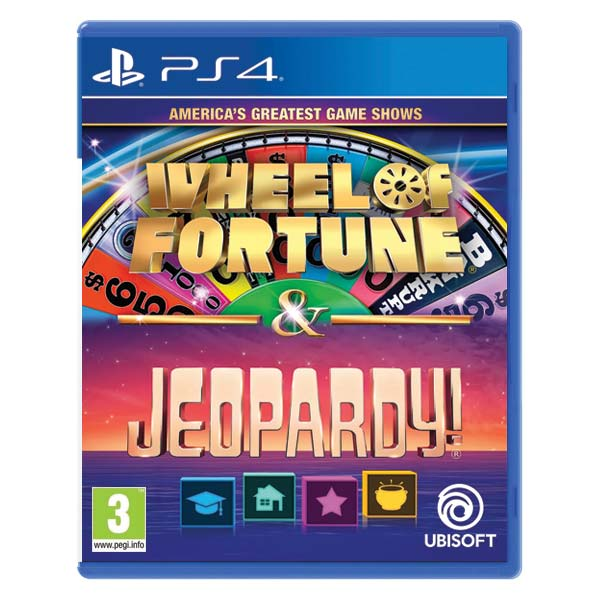 America's Greatest Game Shows: Wheel of Fortune & Jeopardy PS4