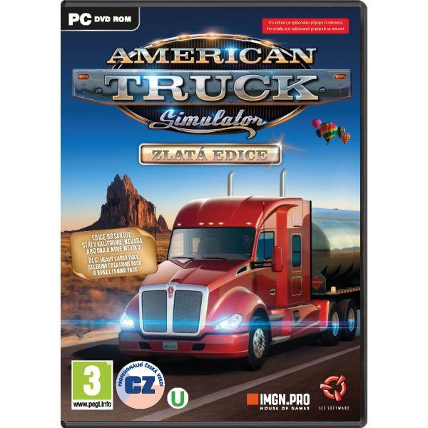 American Truck Simulator CZ (Zlatá edícia)