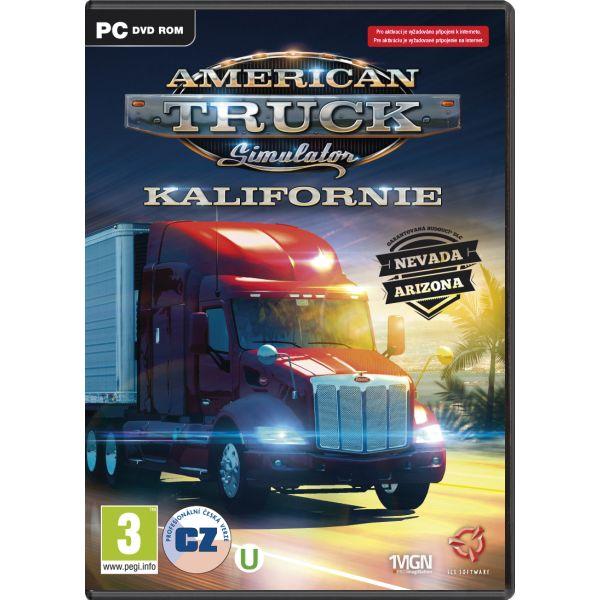 American Truck Simulator: Kalifornia CZ