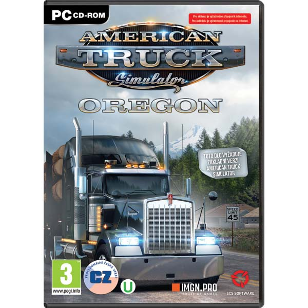 American Truck Simulator: Oregon CZ