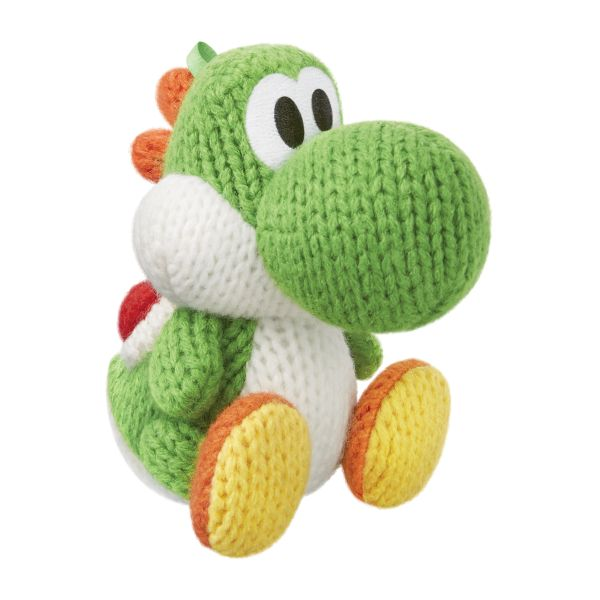 amiibo Green Yarn Yoshi (Yoshi's Woolly World)