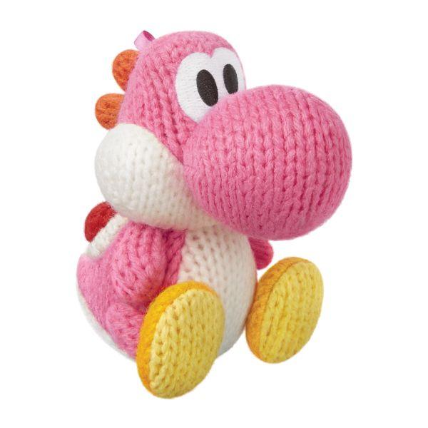 amiibo Pink Yarn Yoshi (Yoshi's Woolly World)