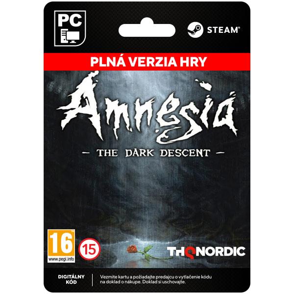 Amnesia: The Dark Descent [Steam]