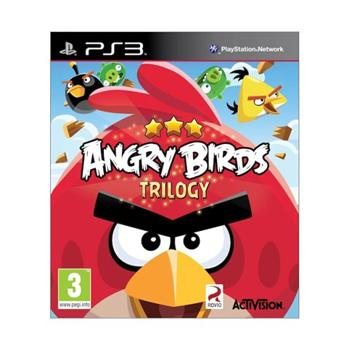 Angry Birds Trilogy [PS3] - BAZ�R (pou�it� tovar)