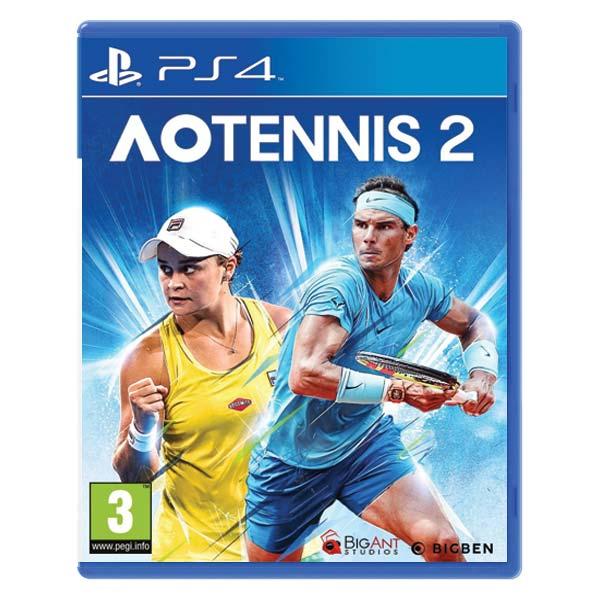 AO Tennis 2 [PS4] - BAZÁR (použitý tovar)