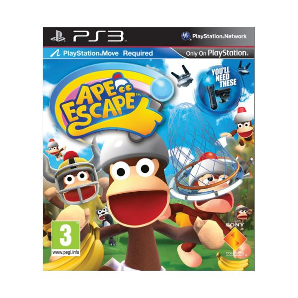 Ape Escape [PS3] - BAZ�R (pou�it� tovar)