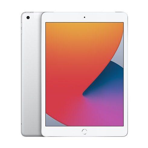 Apple iPad (2020), Wi-Fi + Cellular, 128GB, Silver MYMM2FD/A