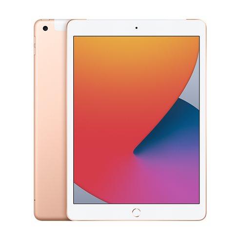 Apple iPad (2020), Wi-Fi + Cellular, 32GB, Gold MYMK2FD/A